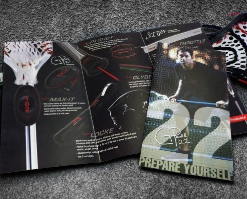 Discover Your Game Brochure Benson Design