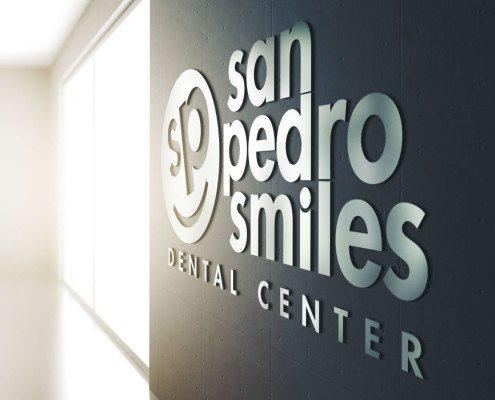 San Pedro Smiles Wall Sign