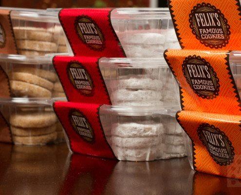 Felixs Famous Cookies Packaging