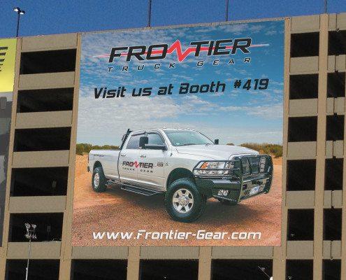 Frontier Truck Gear Banner